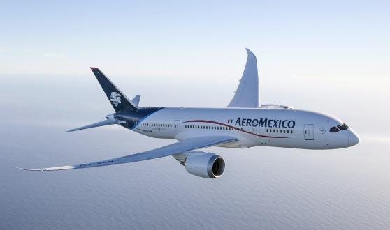 アエロメヒコ航空 初の787 N961AM