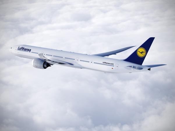 777-9X ルフトハンザ塗装