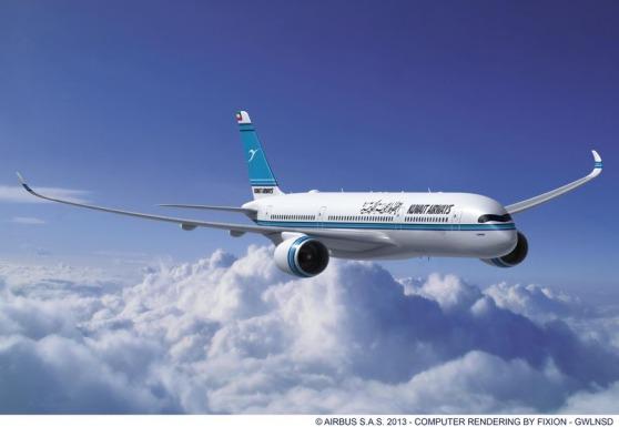 クウェート航空 A350-900