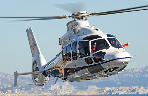 ユーロコプター 大連市 2機目のEC155 B1を納入