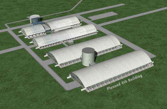 アメリカ空軍博物館 4号館 完成予想図