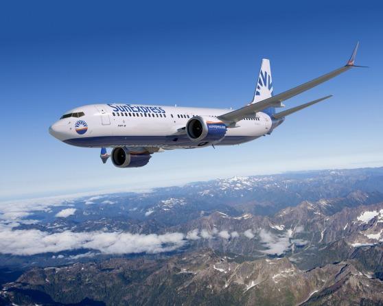 サンエクスプレス 737 MAX