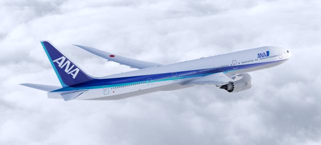 777-9X ANA塗装