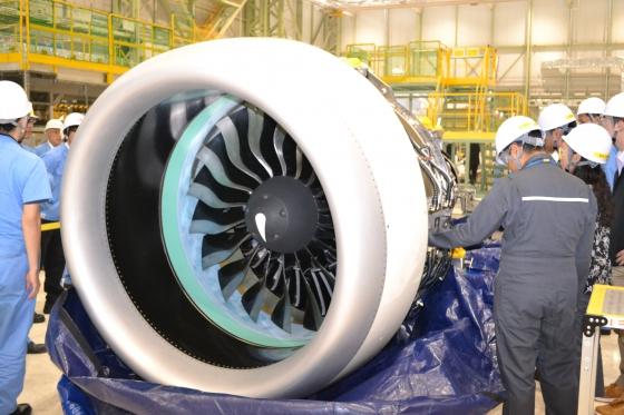 MRJ初号機に搭載するPurePower PW1200Gエンジン