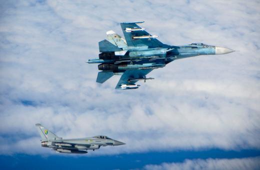 Typhoon, Su-27, Tu-22 1