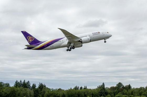 タイ国際航空 787-8 HS-TQA