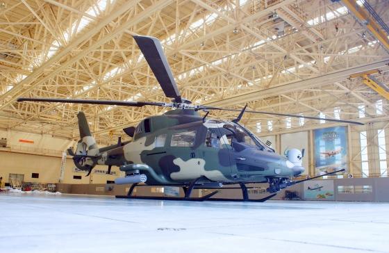 KAI 4.5トンクラス双発の民間/武装ヘリ