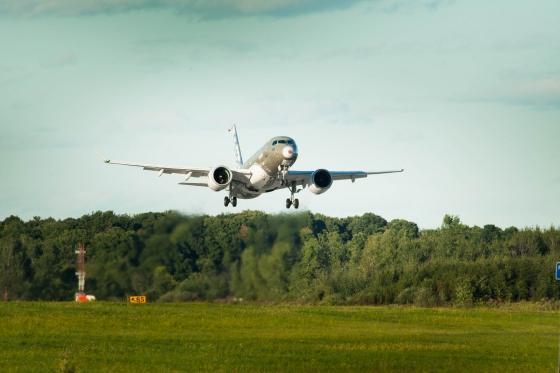 FTV2 C-GWYD 試験飛行再開