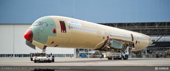 ベトナム航空向け A350 XWB初号機