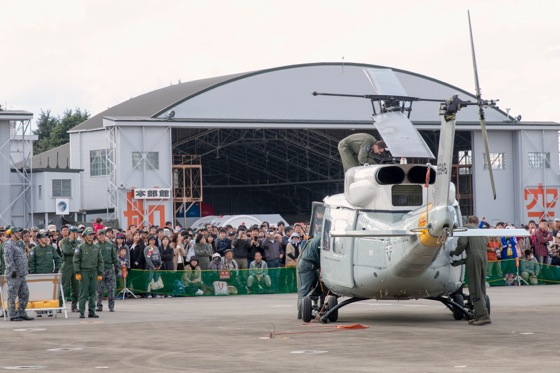 入間基地でのUH-1N イロコイ