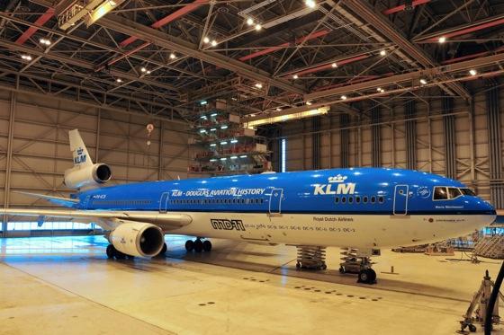 KLMオランダ航空 MD-11 ダグラス機種を記す2