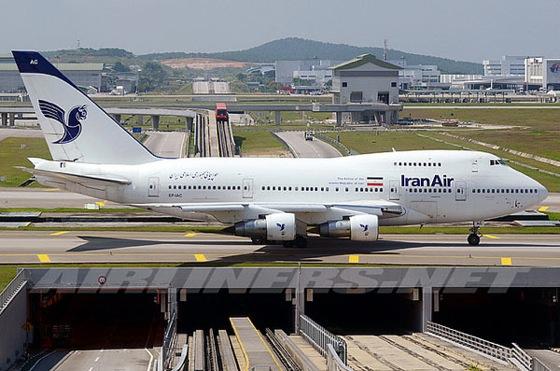 イラン航空の747SPが退役 民間機...